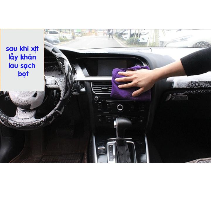 Chai xịt tẩy rửa nội thất ô tô - Bình xịt rửa nội thất FOAM