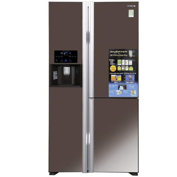 Tủ lạnh 3 cánh Hitachi Inverter 584 lít R-FM800GPGV2X(MBW) - Hàng chính hãng (chỉ giao HCM)