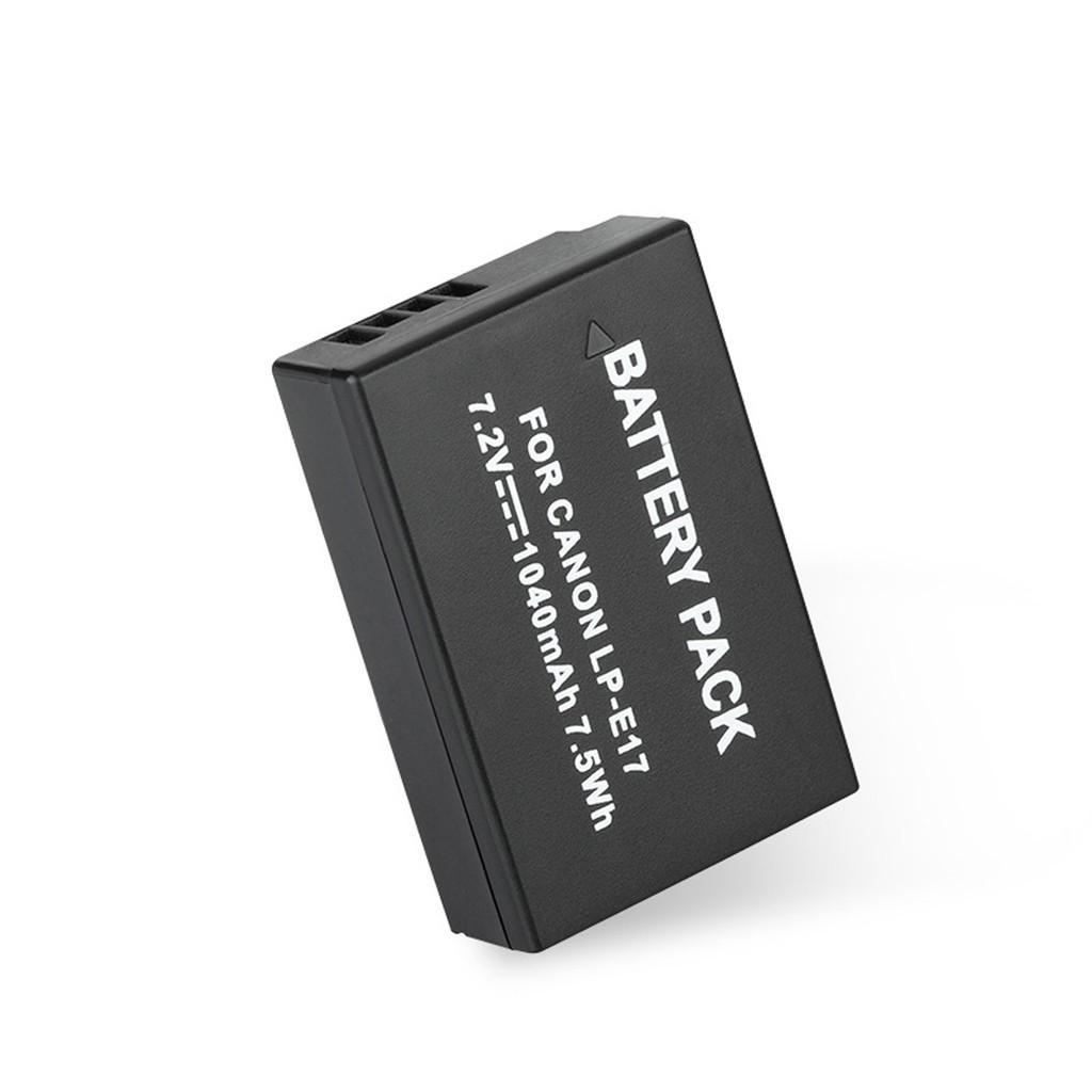 Pin máy ảnh Canon LP-E17 1040mAh cho Canon 77D, 750D, 760D, 800D, M6, M3, M5