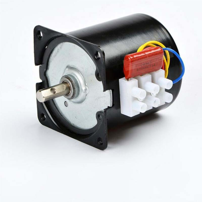 Motor giảm tốc 220VAC 14W Tốc độ chậm 2.5 vòng phút