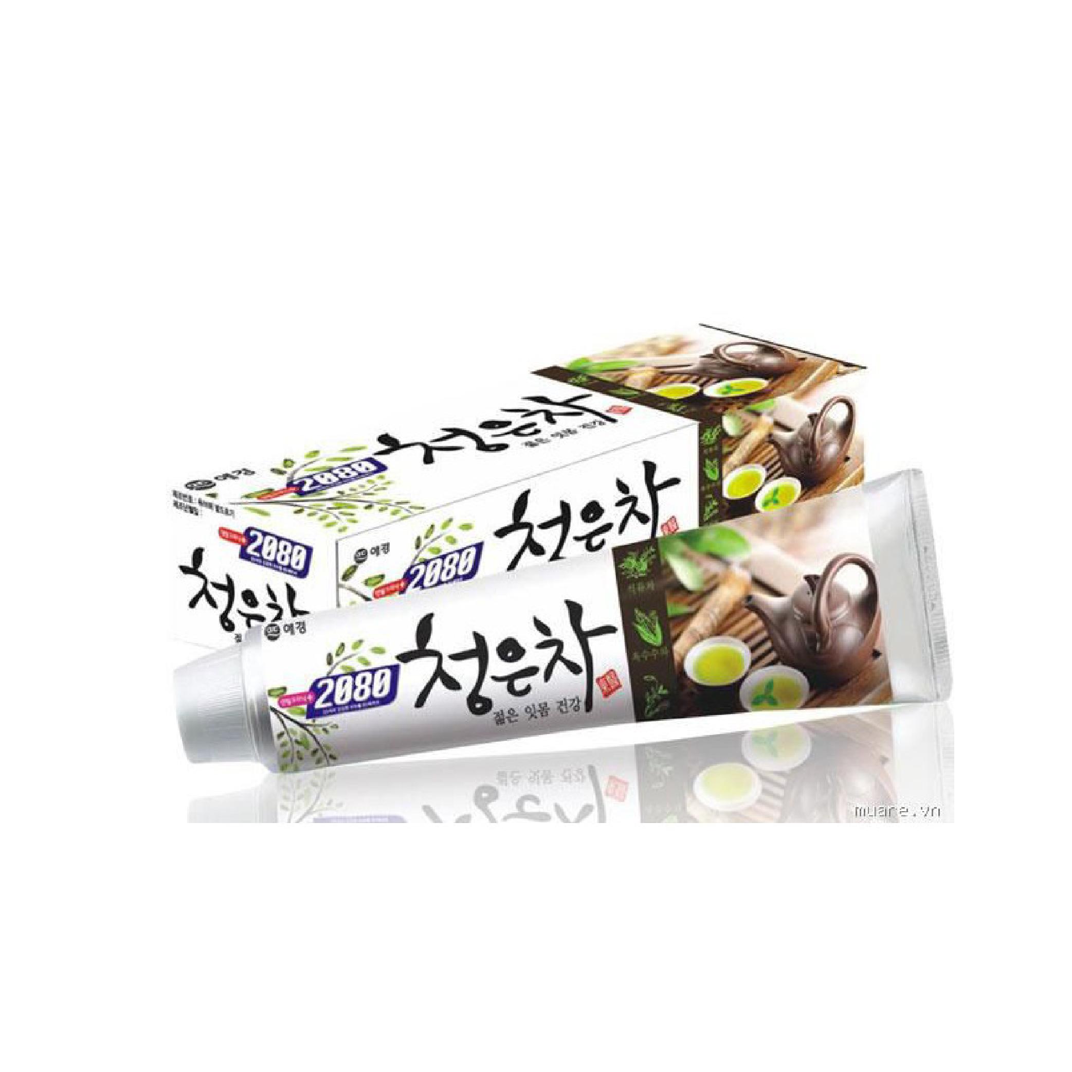 Kem đánh răng cao cấp ngừa chảy máu chân răng và đau răng 2080 CHEONG EUN CHA 160g - Hàn Quốc Chính Hãng