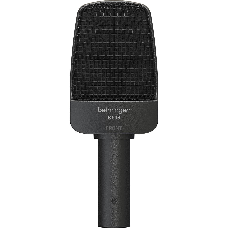 Micro dynamic phòng thu chuyên dụng cho nhạc cụ Behringer B906, hướng thu đa hướng, độ nhạy cao  - Hàng chính hãng
