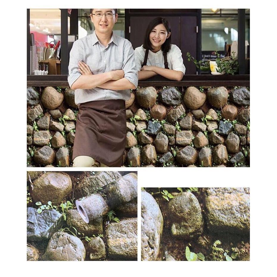 Giấy decal cuộn Sỏi đá