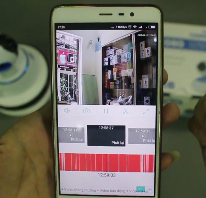 Camera IP Wifi thông minh Vitacam chính hãng ngoài trời full HD - Tặng kèm thẻ nhớ SanDisk