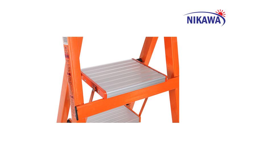 Thang ghế Nikawa gọn gàng và tiện dụng 4 bậc, 5 bậc, 6 bậc