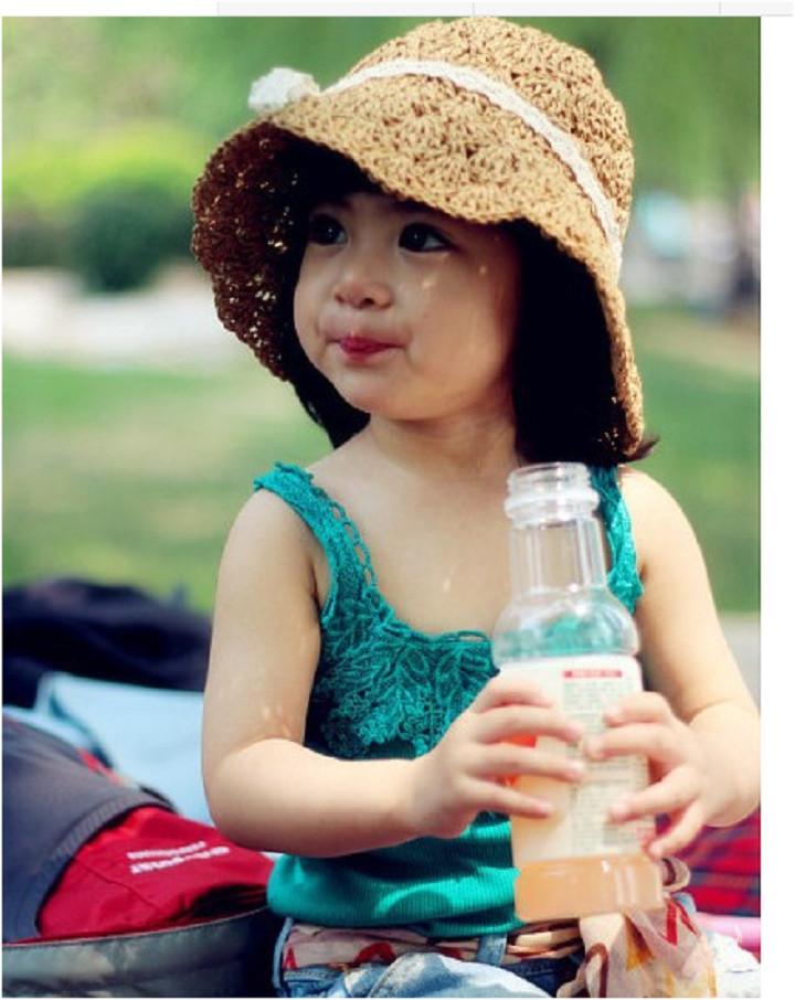 mũ nón cói móc cực xinh cho bé