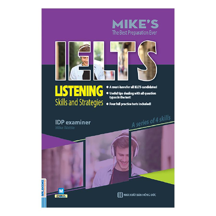 Combo Trọn Bộ Academic Ielts Mike