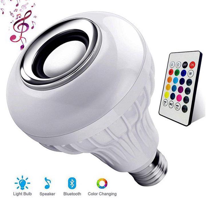 Bóng đèn phát nhạc đổi màu bằng điều khiển