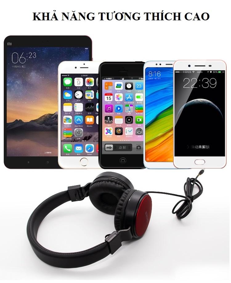 Tai Nghe Có Dây ️️ Tai Nghe Chụp Tai Âm Thanh Sống Động - Tai Nghe Bluetooth SE-5225 Chuyên Dụng Game Thủ