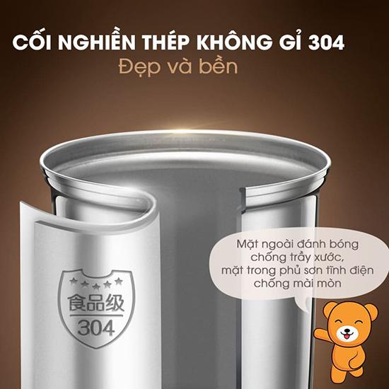 Máy xay thực phẩm khô Bear FSJ-A03D1S - Hàng Chính Hãng