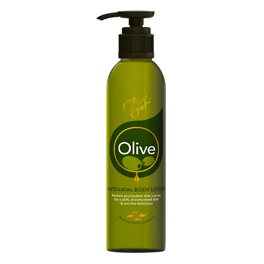 Sữa Dưỡng Thể Tinh Dầu Olive Dưỡng Ẩm Happy Event Antenatal Body Lotion (180ml)