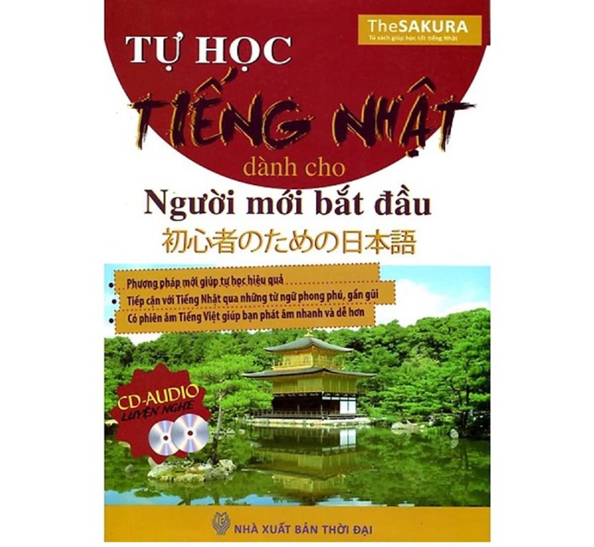 Combo Tự Học Tiếng Nhật Dành Cho Người Mới Bắt Đầu (Tặng kèm Kho Audio Books)