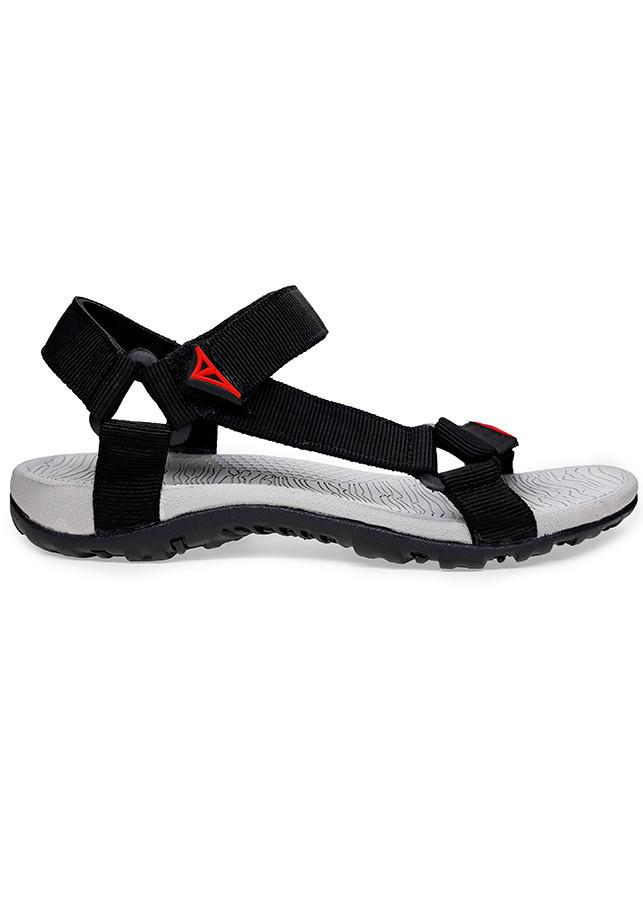 Giày sandal nam Việt Thủy quai ngang VT08 - Đen