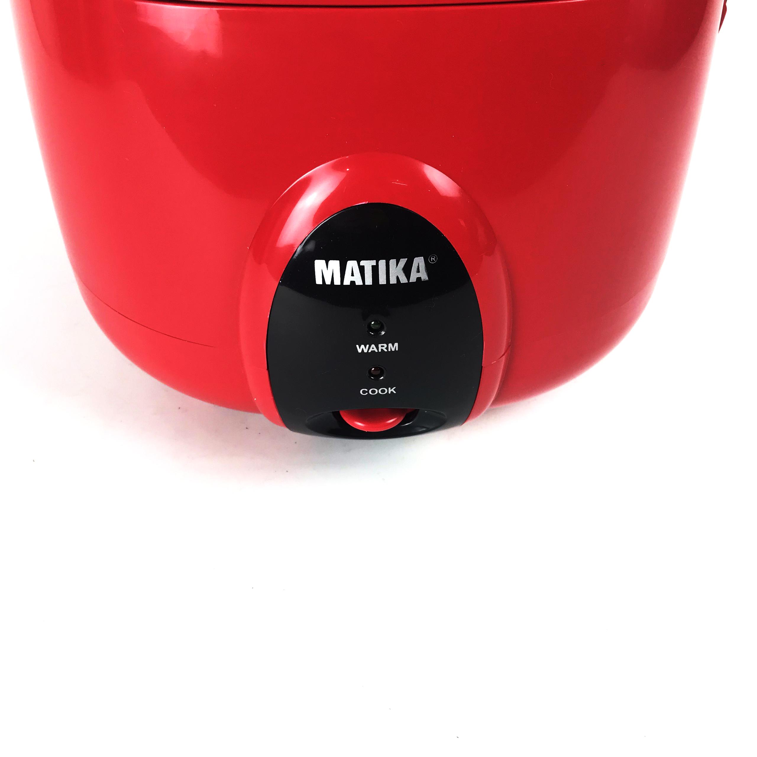 Nồi cơm điện Matika MTK-RC1545 dung tích 1.5L - Hàng chính hãng