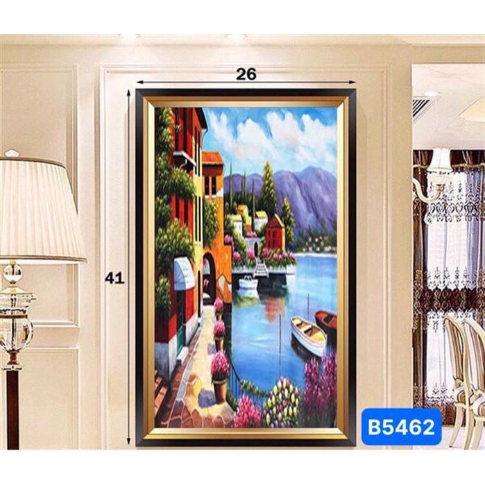 Đèn soi tranh 3d gắn tường gồm 3 chế độ ánh sáng mang phong cách hiện đại cho phòng khách, phòng ngủ, cầu thang