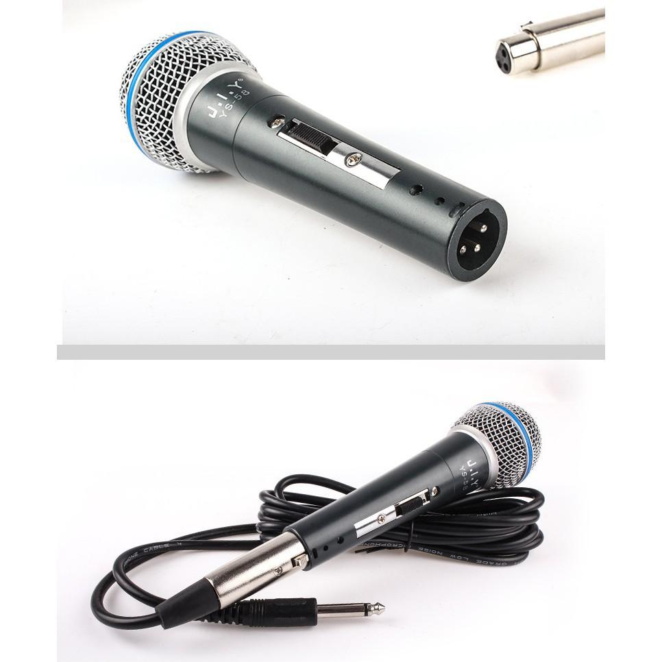 Mic karaoke có dây