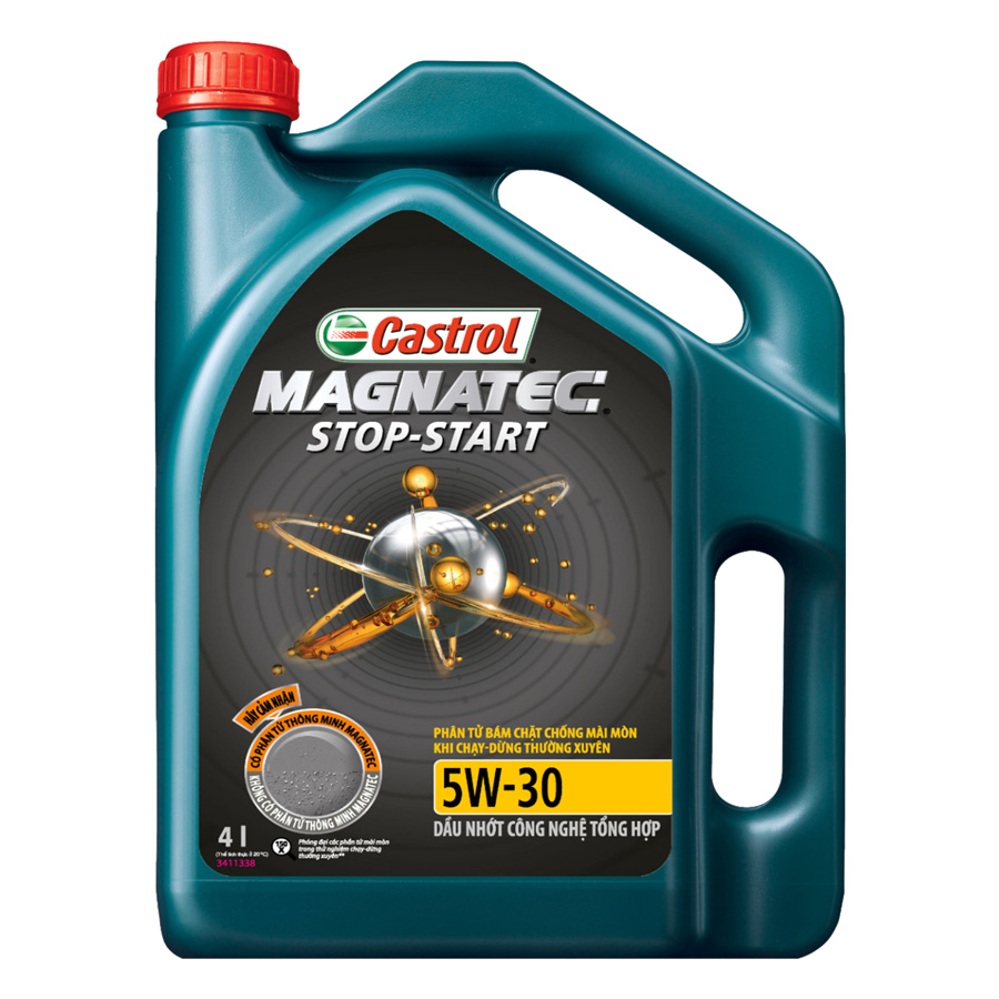 Nhớt Tổng Hợp Castrol Magnatec Stop-Start 5W-30 SN/CF  (4L)