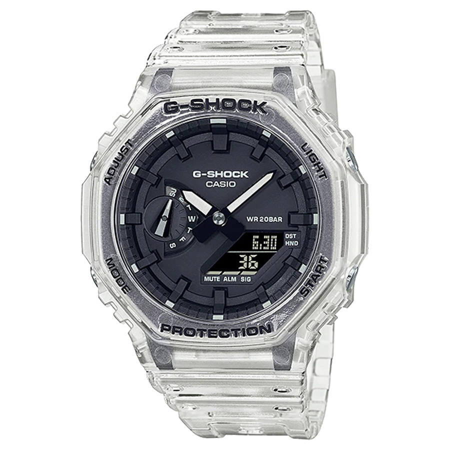 Đồng hồ nam dây nhựa Casio G-Shock chính hãng GA-2100SKE-7ADR (45mm)