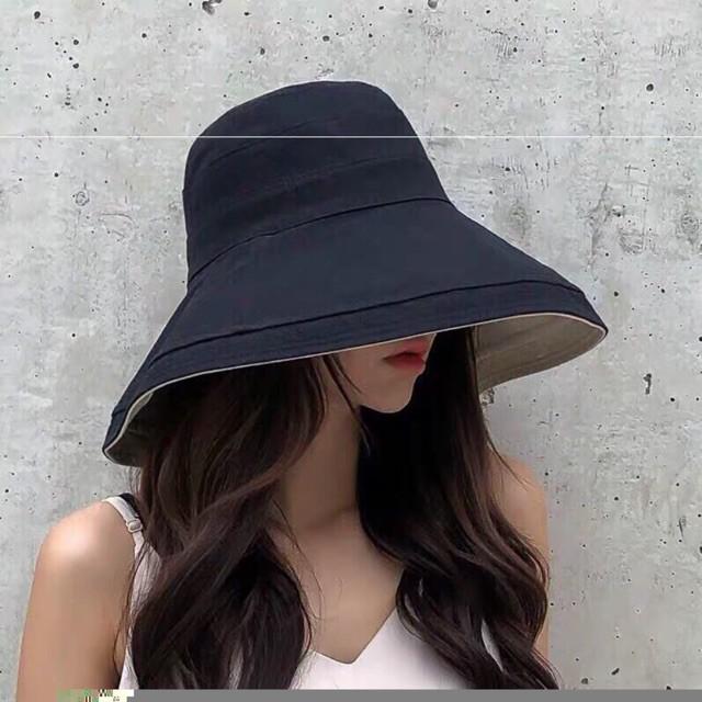Mũ vải đi biển 2 lớp vành siêu rộng