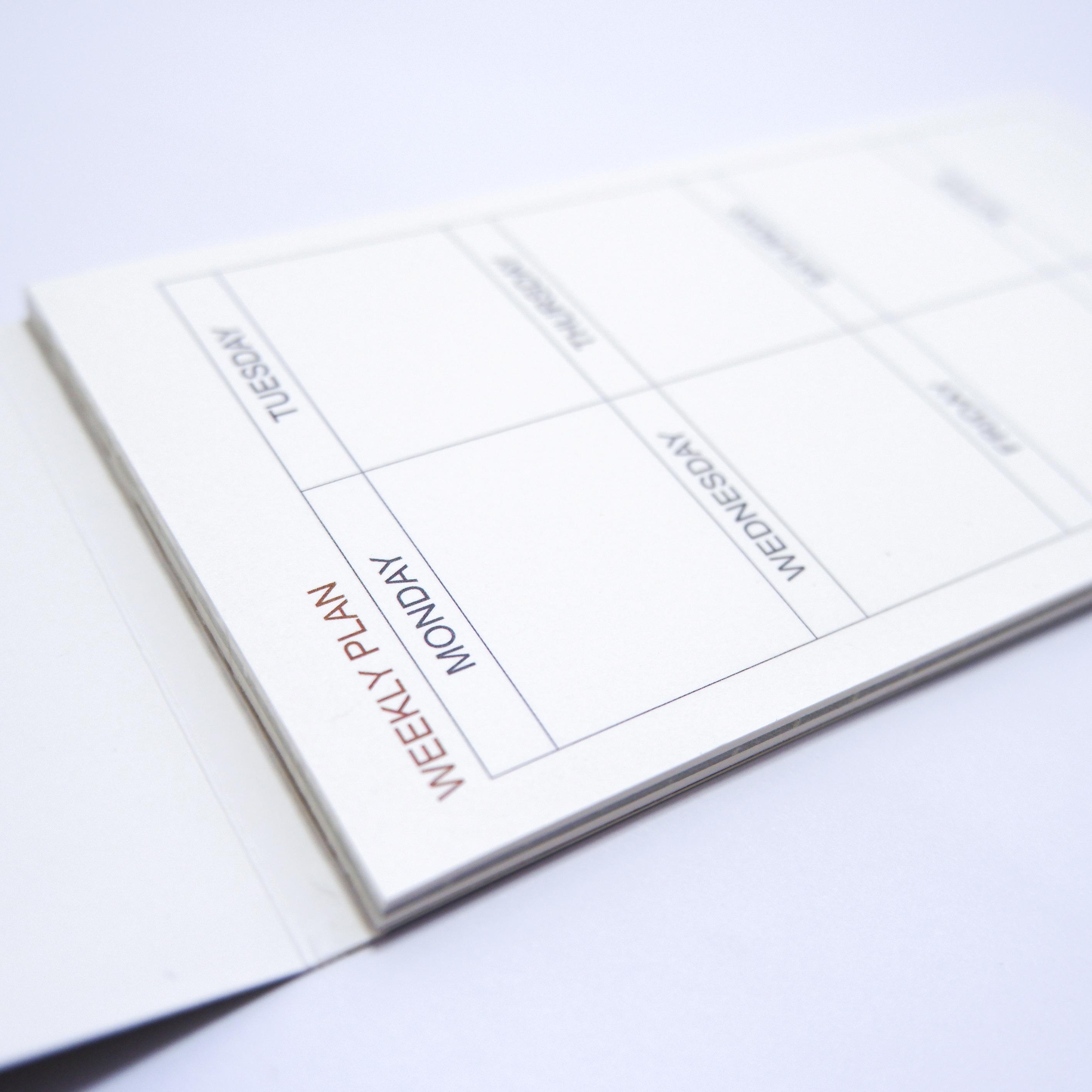 Tập Kế Hoạch Tuần - Weekly Plan