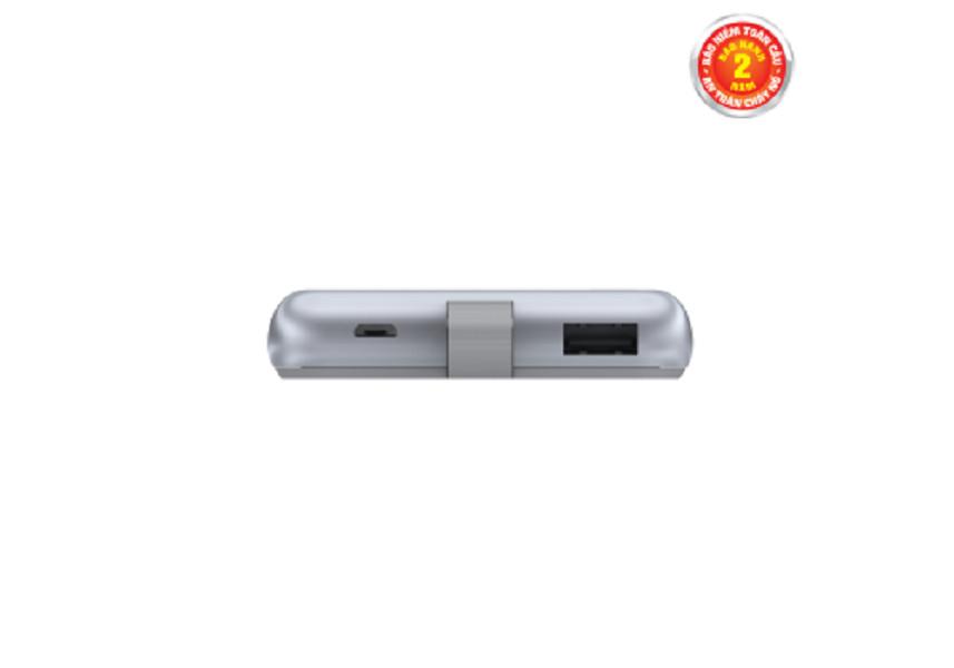 Sạc dự phòng Energizer 8,000mAh /3.7V Li-Polymer - UE8002GY - Hàng chính hãng (MSKU: 2111885652616)