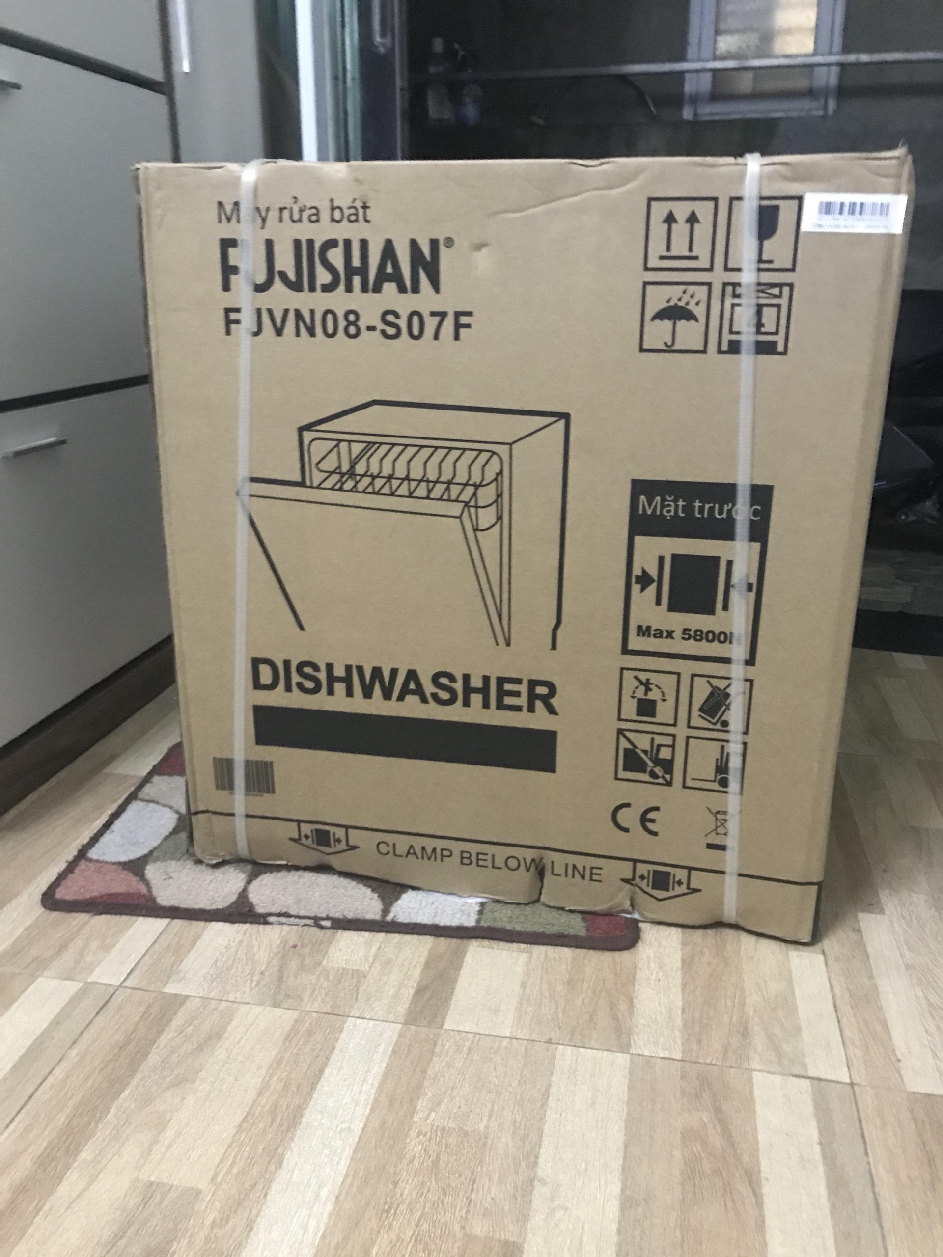Máy rửa bát Fujishan FJVN08-S07F (8 Bộ) - Hàng Chính Hãng