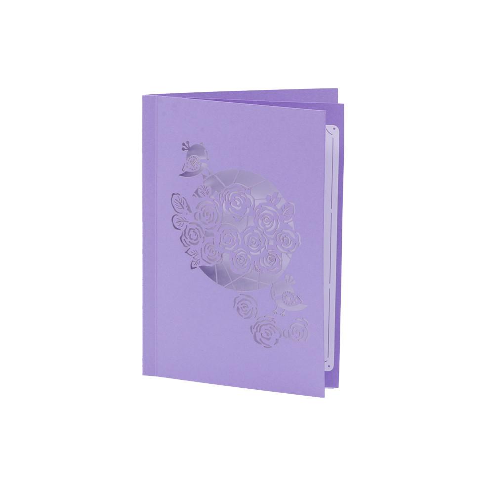 Thiệp Nổi 3D Chúc mừng Giỏ Hồng Lãng Mạn - PNP140