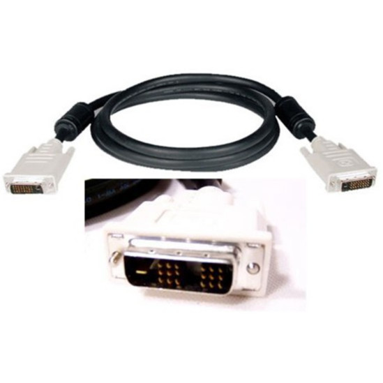 Dây 2 Đầu DVI Theo Máy Có Cục Chống Nhiễu- Dài 1,5m