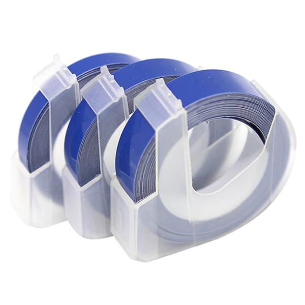 Sticker Tape Label Printer Tape Quality PVC 3m Oil Resistance Office - blue