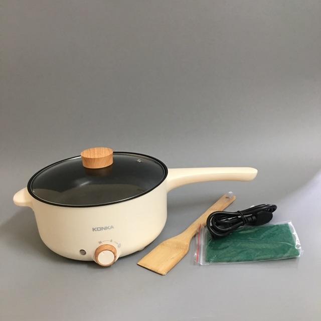 Nồi điện đa năng nấu lẩu chính hãng KONKA KZG-T3HP30  thiết kế sang trọng, nhiệt độ cao, an toàn chống dính