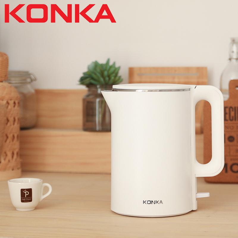 Ấm siêu tốc, bình đun siêu tốc KONKA KEK-KD17 dung tích 1,7 lít, chứng nhận an toàn EU - Hàng chính hãng
