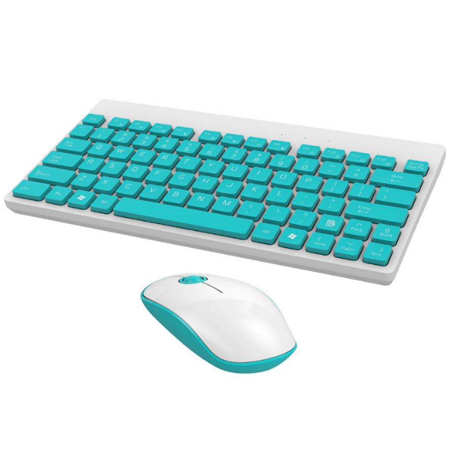 Bộ bàn phím và chuột không dây F-1500 mini siêu mỏng