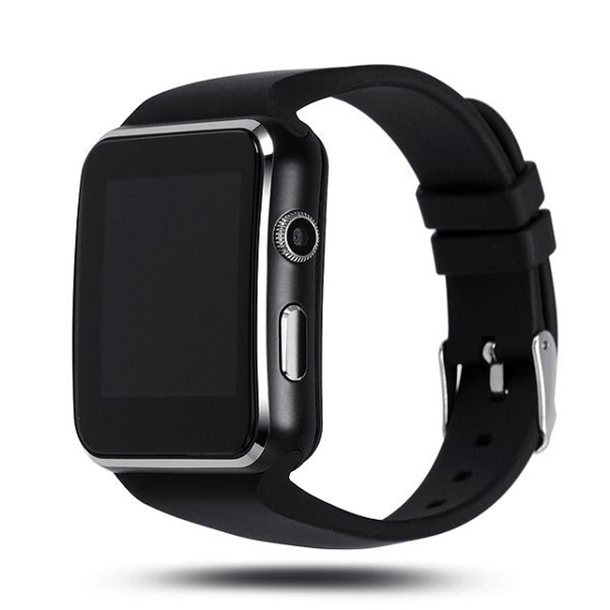 Đồng Hồ Thông Minh Smartwatch Cao Cấp X6/DZ09 Tiếng Việt chính hãng- màu ngẫu nhiên