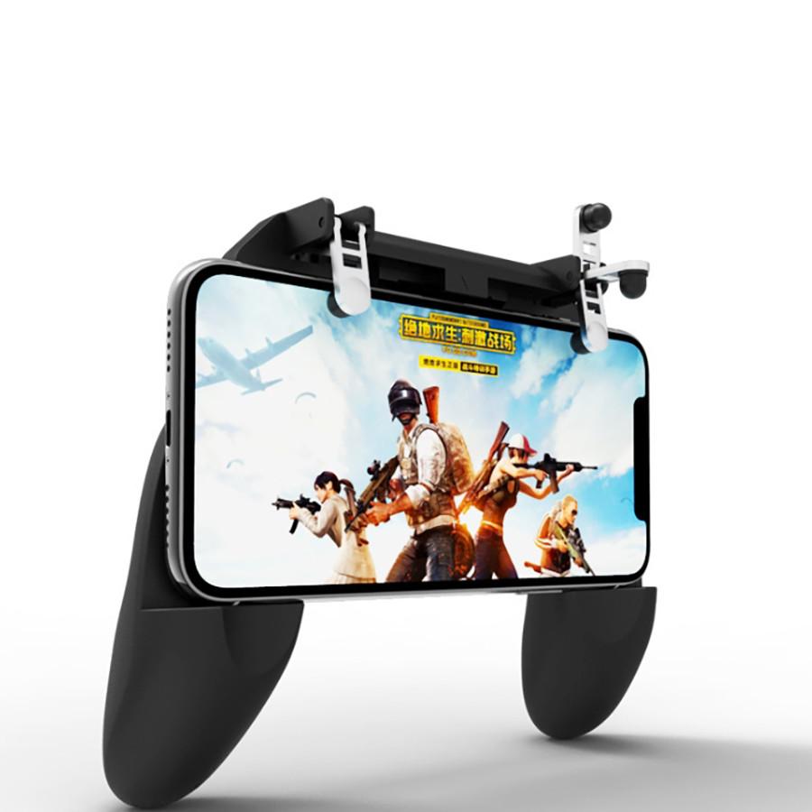 TAY CẦM CHIẾN GAME PUBG NHẢY DÙ W10 - Đen - Hàng nhập khẩu