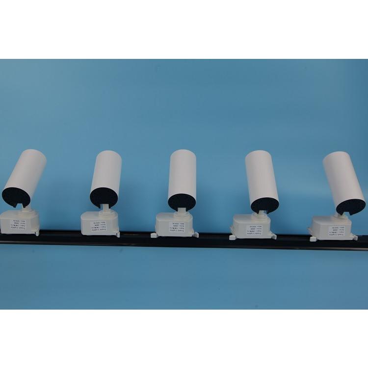 Combo 5 đèn led rọi ray ống bơ 5w + thanh ray 2m