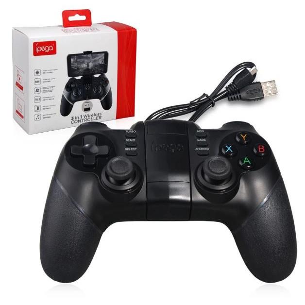 Tay cầm chơi game iPega PG-9076 - Kèm USB wifi chơi trên pc