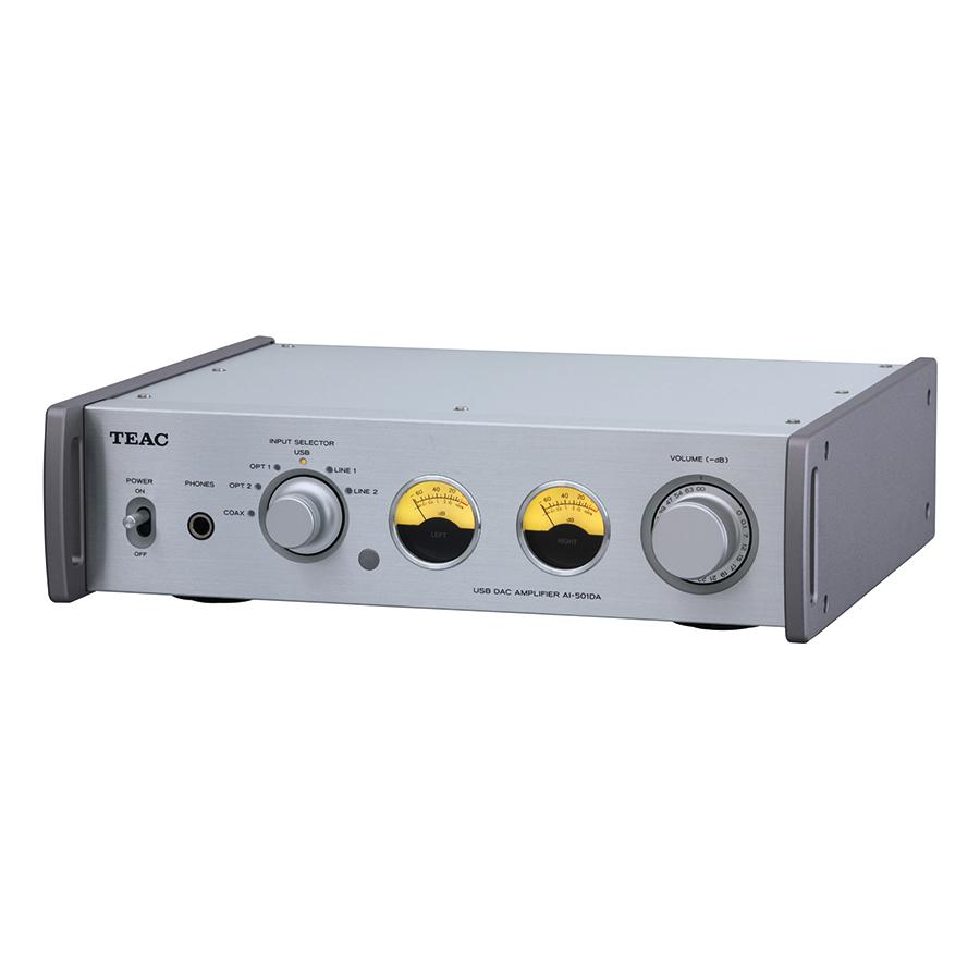 Amply Tích Hợp USB TEAC AI-501DA 55W - Bạc - Hàng Chính Hãng