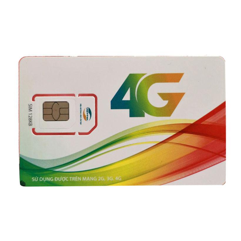 Sim 4G Viettel Trọn Gói 1 Năm Không Nạp Tiền Gói D500 (4GB/THÁNG) - Hàng Chính Hãng - Màu ngẫu nhiên