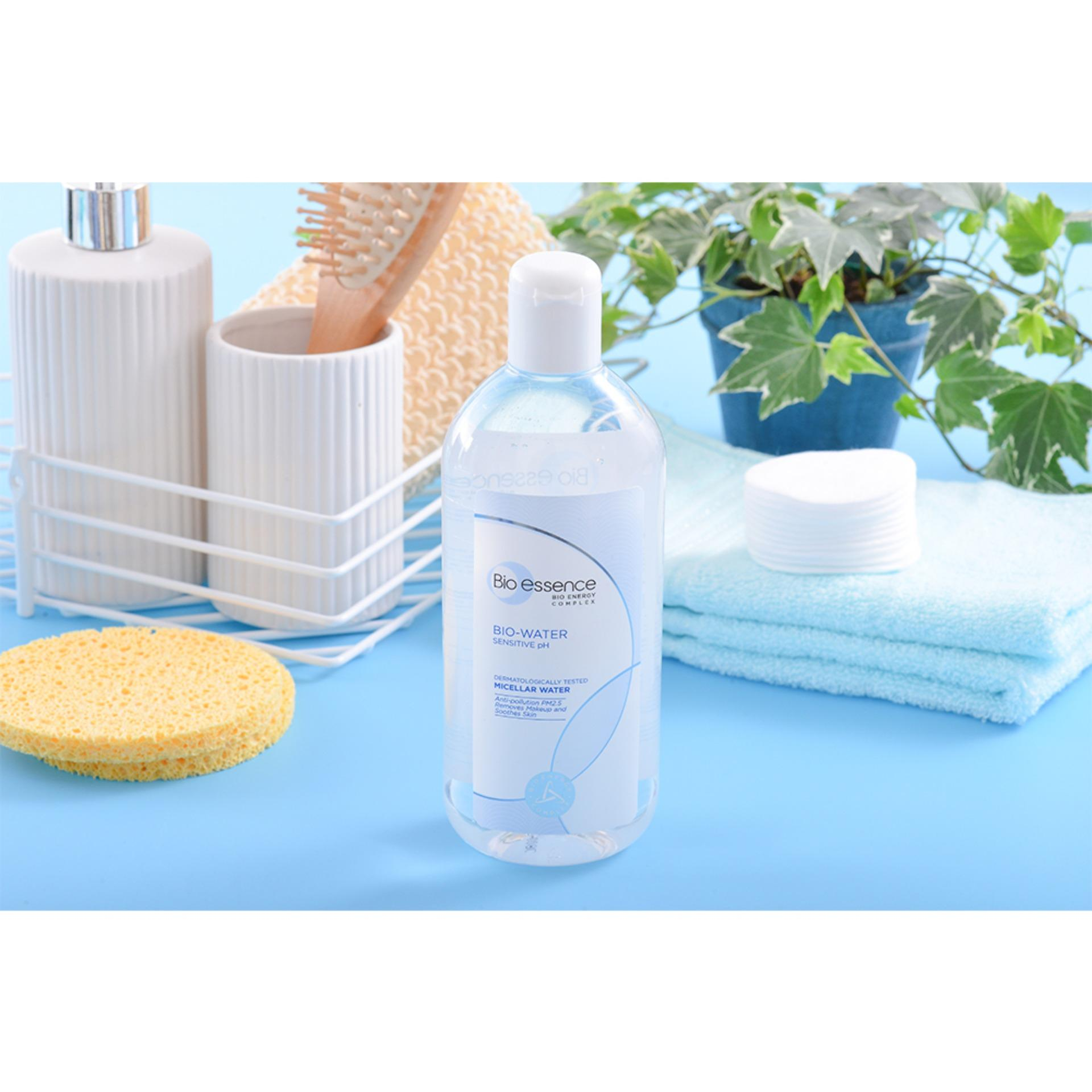 Nước tẩy trang ẩm mượt mịn màng Bio-essence Bio-water Bio-essence water micellar water 100ml