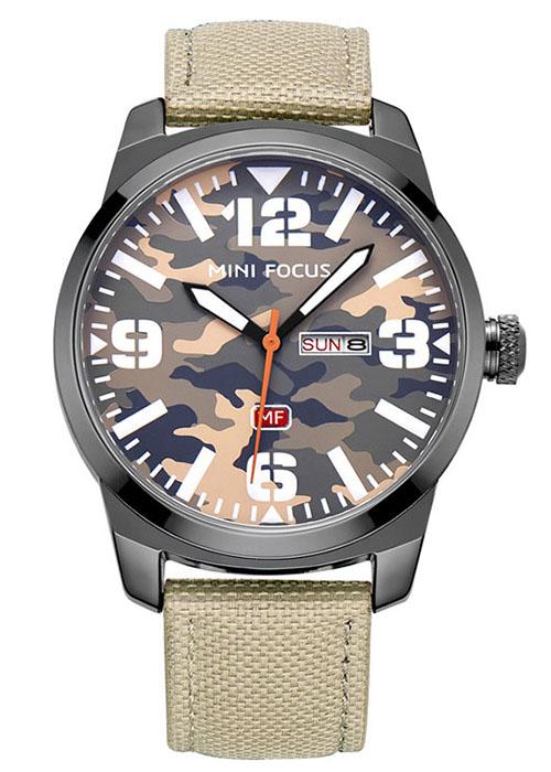 Đồng hồ đeo tay nam phong cách lính, đi phượt, chống nước,  thay dây theo sở thích 0032G | Kèm hộp da cao cấp - Hàng nhập khẩu