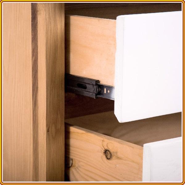 Kệ trang trí 3 ngăn kéo gỗ sồi Juno Sofa