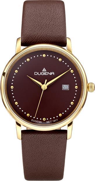 Đồng hồ Dugena nữ Mila 4460837 dây nâu