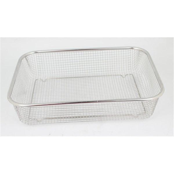 Rổ lưới inox 29x21cm - Tiện lợi dễ vệ sinh