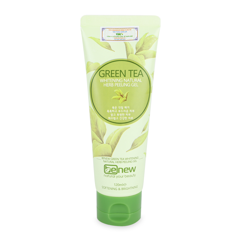 [Tặng móc khoá] Tẩy tế bào chết trà xanh Benew Green Tea Peeling Gel Hàn Quốc 150ml