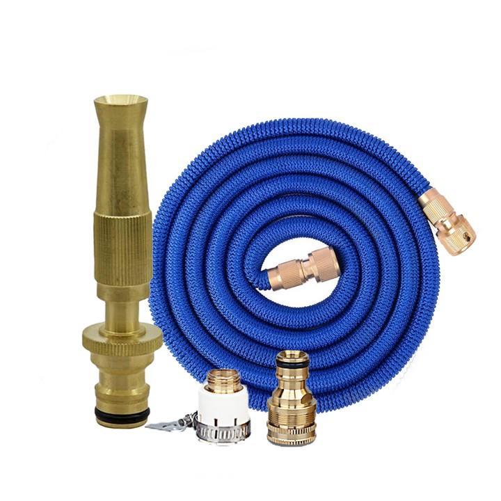 Vòi phun nước rửa xe tưới cây tăng áp thông minh giãn nở khi sử dụng 587709