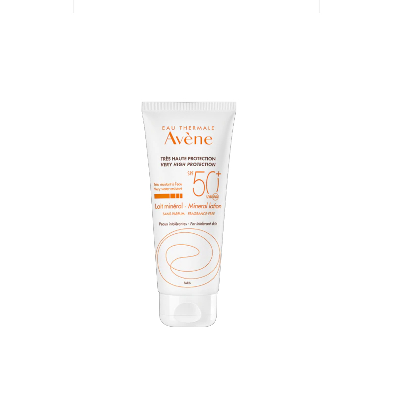 Lotion Chống Nắng Avene Very High Protection Mineral Lotion SPF 50+ (100 ml)