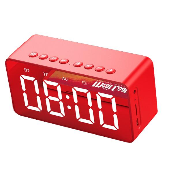 Loa bluetooth mini hỗ trợ chức năng đồng hồ và báo thức BT506 - Hàng chính hãng