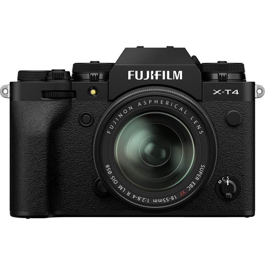 Máy Ảnh Fujifilm X-T4 + Lens 18-55mm-Hàng chính hãng