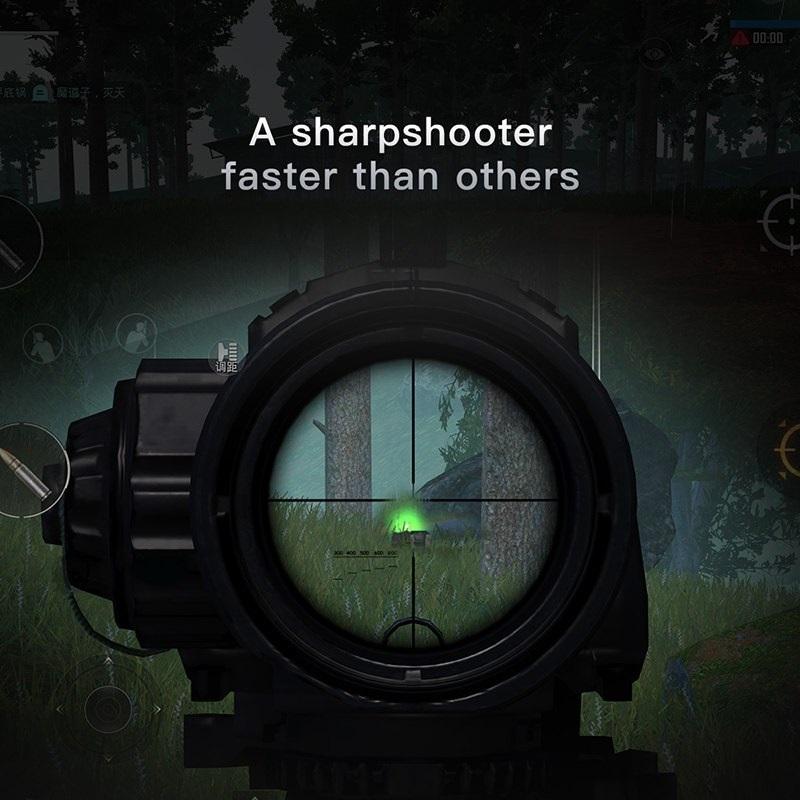 Bộ 2 nút gamepad hỗ trợ chơi game PUBG Baseus Holder Shooting cho iPad máy tính bảng (Màu ngẫu nhiên) - Hàng chính hãng
