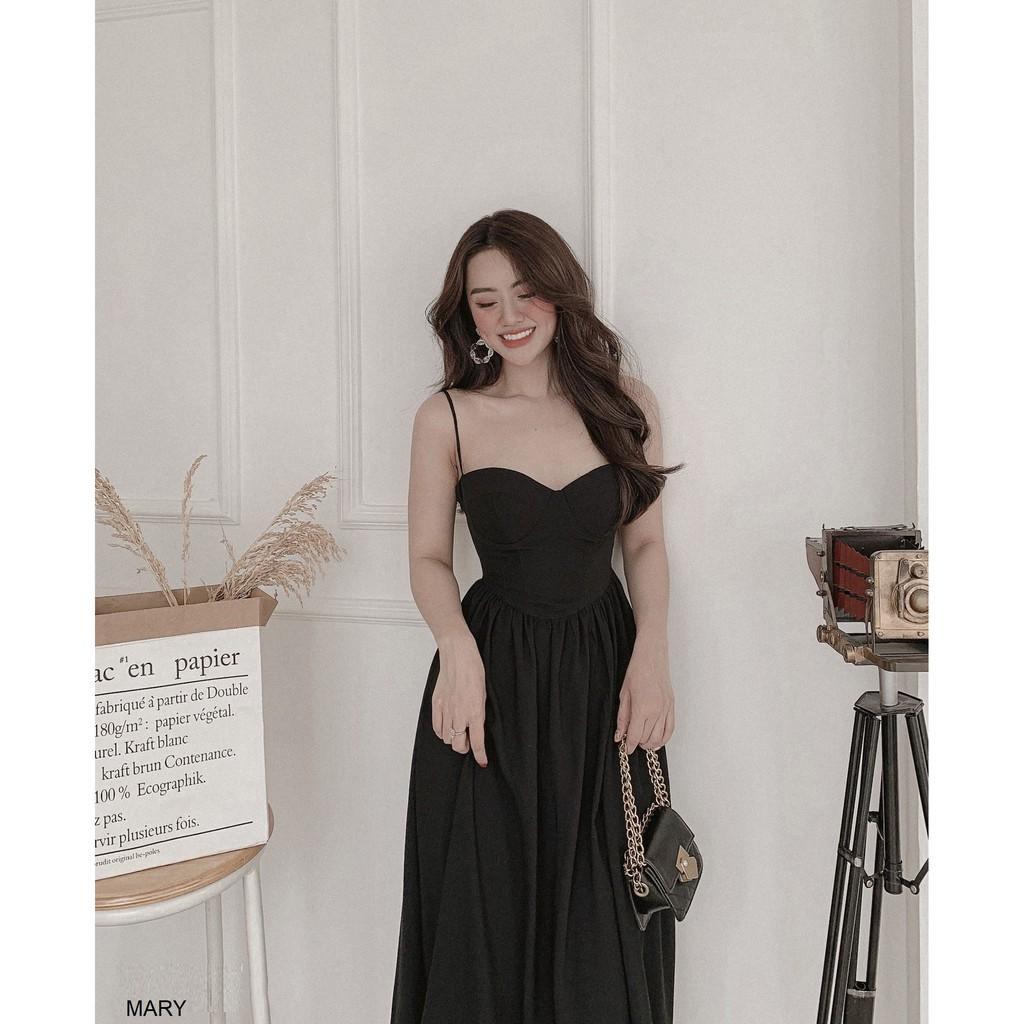 Đầm maxi 2 dây thiết kế Mary dress - đầm dự tiệc - đầm 2 dây - váy maxi